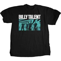 Billy Talent - Mens Blue Photo T-Shirt