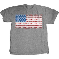 Cheech & Chong - Mens Sombrero/Joint Flag T-Shirt