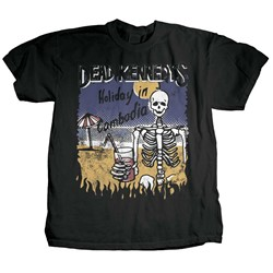 Dead Kennedys - Mens Cambodian Skeleton T-Shirt