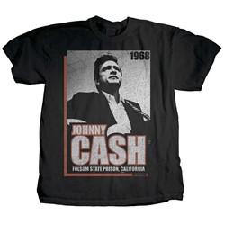 Johnny Cash - Mens Presence T-Shirt
