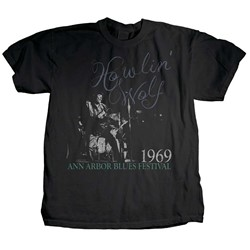 Howlin Wolf - Mens Center Stage T-Shirt