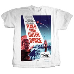 Plastichead - Mens Plan 9 T-Shirt