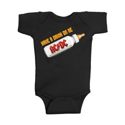 AC/DC - Infant Drink on Me Creeper Onesie