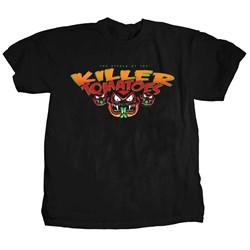 Attack of the Killer Tomatoes - Mens Three Killer Tomatoes T-Shirt