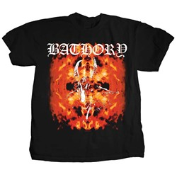 Bathory - Mens Fire Goat T-Shirt