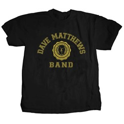 Dave Matthews Band - Mens College Logo T-Shirt