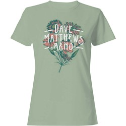 Dave Matthews Band - Womens Flowers T-Shirt
