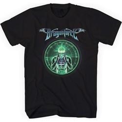 Dragonforce - Mens Green Man T-Shirt