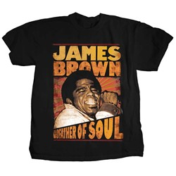 James Brown - Mens Godfather of Soul T-Shirt