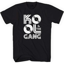 Kool & the Gang - Mens Records Tee T-Shirt