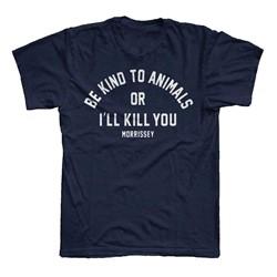 Morrissey - Mens Be Kind T-Shirt