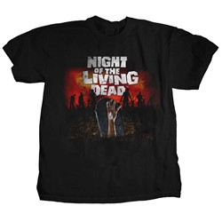 Night of the Living Dead - Mens Graveyard T-Shirt