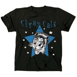 Stray Cats - Mens Star Cat T-Shirt