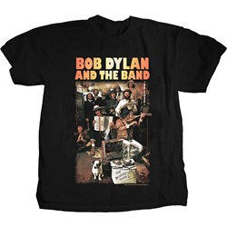 The Band / Bob Dylan - Mens Basement Tapes T-Shirt