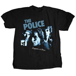 The Police - Mens Reggatta de Blanc T-Shirt