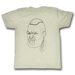 Mr. T - Mens One Line Mr. T T-Shirt