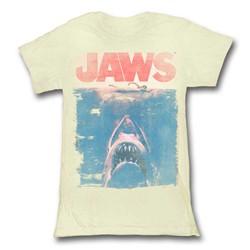 Jaws - Womens Fade T-Shirt