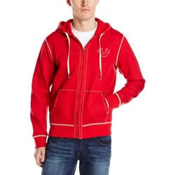True Religion - Mens Contrast Stitch Hoodie