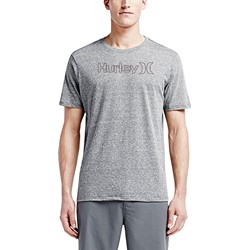 Hurley - Mens One And Only Outline Triblend Premium T-Shirt
