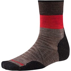 Smartwool - Unisex-Adult PhD® Outdoor Light Pattern Mid Crew Socks