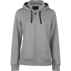 Hurley - Womens Icon Solid Zip-Up Fleece Hoodie
