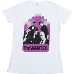 The Wanted - Womens Suit Block T-shirt in White