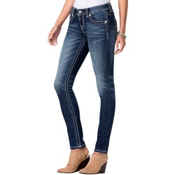 Miss Me - Womens Signature Rise Skinny Jeans