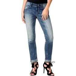 Miss Me - Womens Mid-Rise Skinny Cuffed Jeans