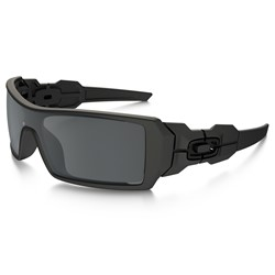 Oakley Oil Rig in Matte Black / Black Iridium Sunglasses  (03-464)