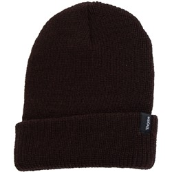 Brixton - Mens Heist Beanie In Dark Brown