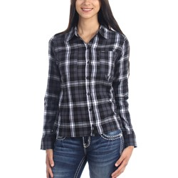 Hurley - Womens Wilson Long Sleeve Woven Shirt