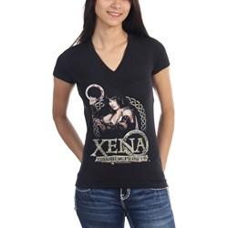 Xena: Warrior Princess - Womens Royalty V-Neck T-Shirt