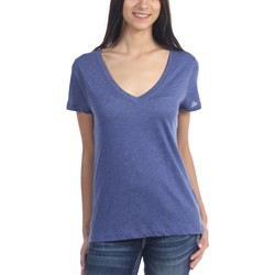 Hurley - Juniors Solid Perfect V-Neck T-Shirt