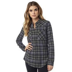Fox - Womens Flown Ls Flannel Woven