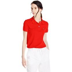 Lacoste Women's Short-Sleeve Pique Polo Shirt in Original Fit