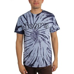 The Doors - Mens Classic Logo Tie-Dye T-Shirt