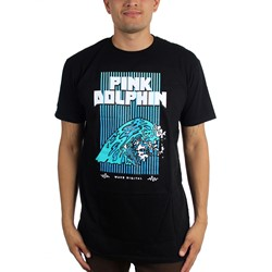 Pink Dolphin - Mens Wave Digital T-Shirt