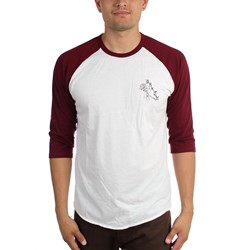 Brixton - Mens Rosa 3/4 Sleeve T-Shirt