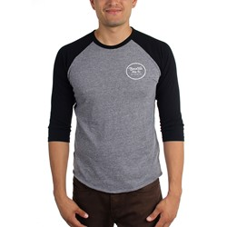 Brixton - Mens Wheeler 3/4 Sleeve T-Shirt