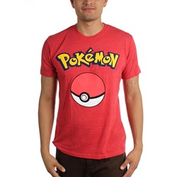 Pokemon - Mens Pokeball T-Shirt