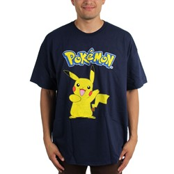 Pokemon - Mens Pikachu T-Shirt