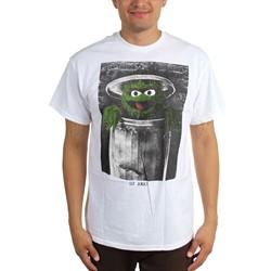 Sesame Street - Mens Oscar The Grouch T-Shirt