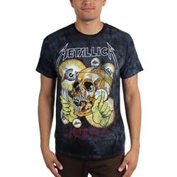 Metallica - Mens Shortest Straw Tie-Dye T-Shirt
