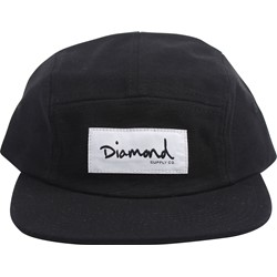 Diamond Supply - Mens Heavy Slub 5-Panel Clipback Hat