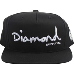 Diamond Supply - Mens Og Script Snapback Hat
