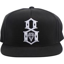 Rebel 8 - Mens Logo Script Snapback hat