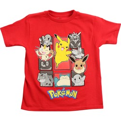 Pokemon - Boys Groupshot Juvy T-Shirt