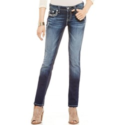Miss Me - Womens Mid Rise Straight Jeans