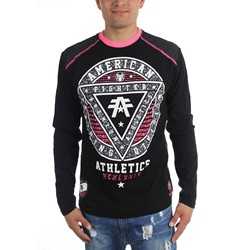 American Fighter - Mens Charleston Pattern Long Sleeve T-Shirt
