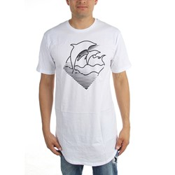 Pink Dolphin - Mens Speed Waves Scallop T-Shirt